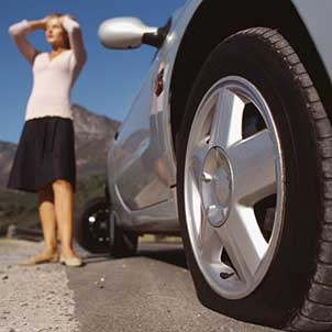 A flat tire is common cause variation
