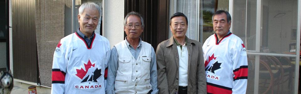 At Shigeru's, Kumatori, Japan (2005)