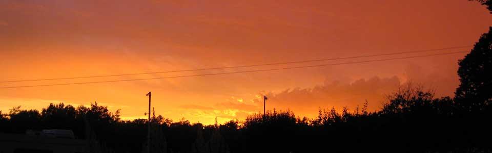 Sunset, Victoria B.C., (2009)