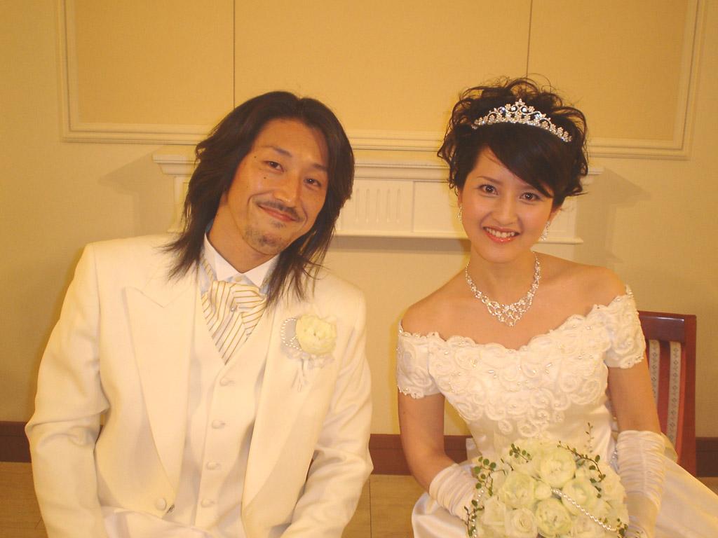 Junya and Ai at the main Reception