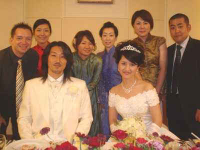 Craig, Kana, Junya, Shima, Rie, Ai, Tomo and Koichi