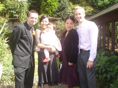 Craig, Kana, Grace, Mika & David