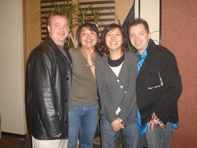 James, Hiromi, Kana and Me
